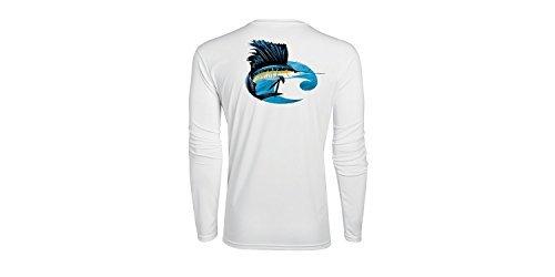 Costa Sailfish Technical L/S Performance Shirt, White, ()