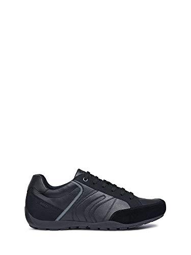 05422 Nero Geox U823fd Sneakers Man An0HgZ0