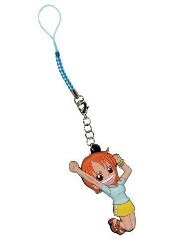 One Piece Onepiece SD Nami Cell Phone charm Anime Keychain
