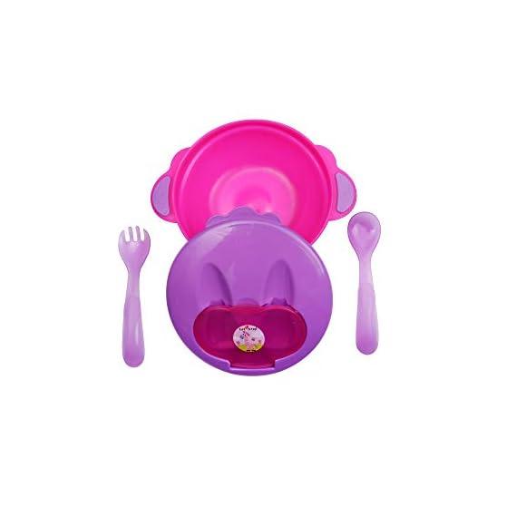 1st Step Feeding Bowl Pink