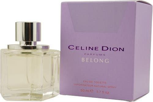 Celine Dion Belong by Celine Dion For Women. Eau De Toilette Spray (Celine Dion Perfume Belong)