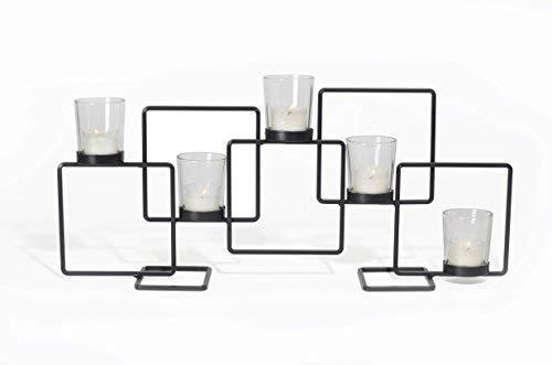 Adorn Modern Geometric Design Candle ()