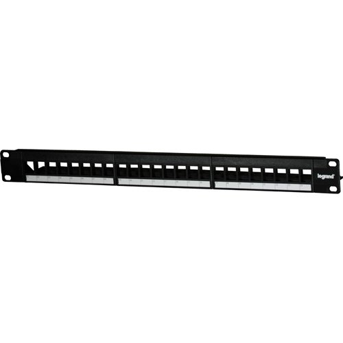 Legrand - On-Q WP24RM 24-Port Blank Keystone Patch Panel