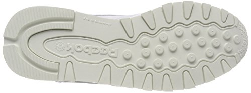Femme Blanc Reebok Leather Classic Hardware Whitechalk Whitechalk Cassé Baskets Iq1fp1wS