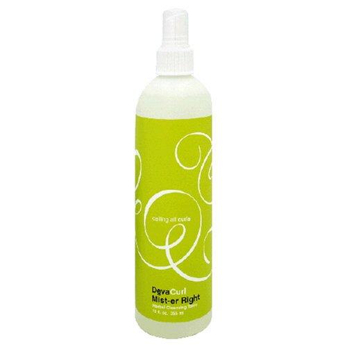 Deva Curl, Mist-er Right, Lavender curl Revitalizer 12-Ounces (Pack of 2)