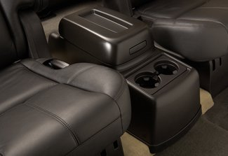 2011-2012 Cadillac Escalade Rear Floor Console (Black) by GM 22790671