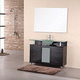 Design Element - DEC015C - Huntington 48'' Single Sink Vanity by Design Element
