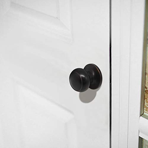 Probrico Passage Door Knob Handles Interior Hall/Closet Keyless Locksets Oil Rubbed Bronze 6 Pack by Probrico (Image #7)