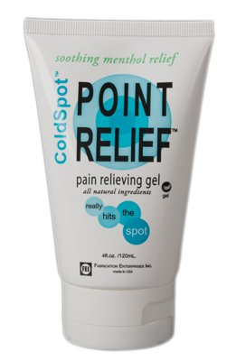 FEI 11-0730-144 Point Relief Cold Spot Topical Analgesic Lotion, Gel Tube, 4 oz. Volume (Pack of 144)