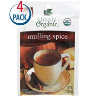 Simply Organic Mulling Spice -- 1.2 oz Each / Pack of 4
