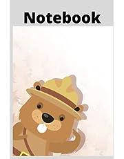 Mountie Beaver Notebook