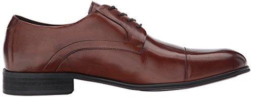 Kenneth Cole New York Mens Design 102812 Cognac Oxford