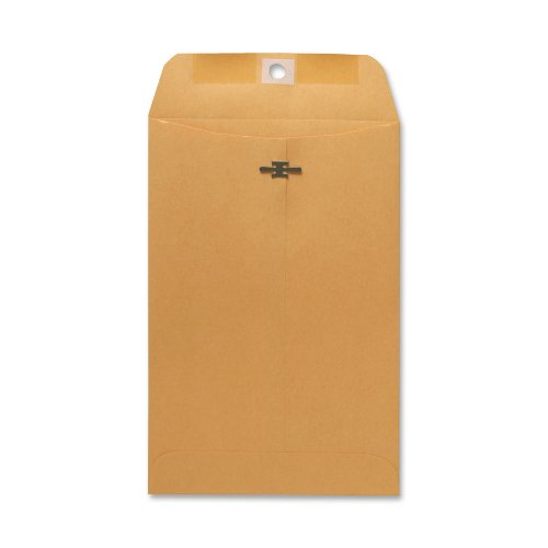 Sparco Clasp Envelope, 28 lbs, 6 x 9 Inches, 100 per Box, Kraft (SPR08855)