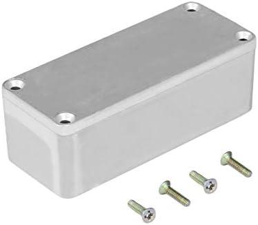 Kit de instrumentos musicales de aluminio portátil Cable Stomp Box Efectos Caja de pedal para estuches de estilo de efecto de guitarra Soporte (plateado) ESjasnyfall: Amazon.es: Instrumentos musicales