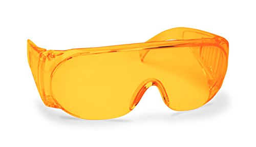 Walker's Game Ear Full Coverage Shooting Amber Hunting Safety Glasses