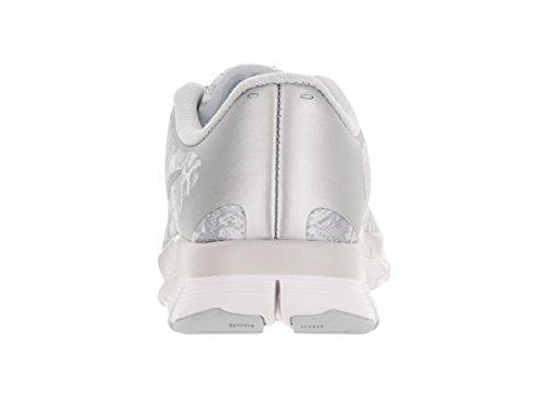 Fit metallic Pltnm 0 pr White Nike 5 Tr Sneaker Free Donna Silver 4 RzCIqI