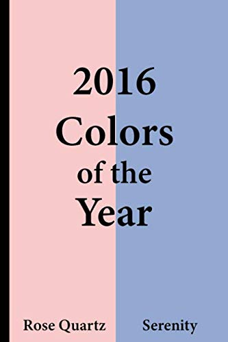 Pantone Art Markers - 2016 Colors of the Year - Rose Quartz and Serenity: College Ruled Notebook