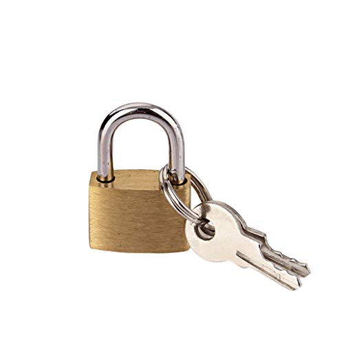 (HankuSmall Lock Luggage Case Padlock Box Case Lock Mini Lock Lovers Lock Luggage Padlock 20MM)
