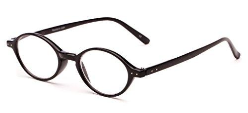Readers.com The Lennon +1.50 Black John Lennon Small Round Reading - Small Glasses Round Reading