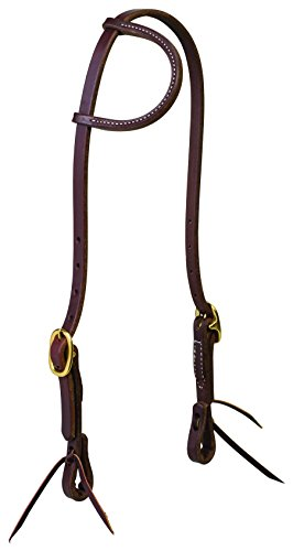 Ear Bridle (Weaver Leather Working Tack Solid Brass Sliding Ear Headstall)