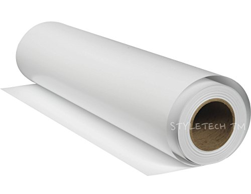 Matte White Removable Repositionable Adhesive Vinyl 12