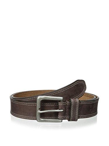 Timberland Men's 35mm Boot Leather Belt Dark Brown 38