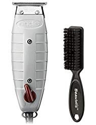 -Outliner Beard/Hair Trimmer with T-Blade, Gray, Model GTO (04710) with a BeauWis Blade Brush ()