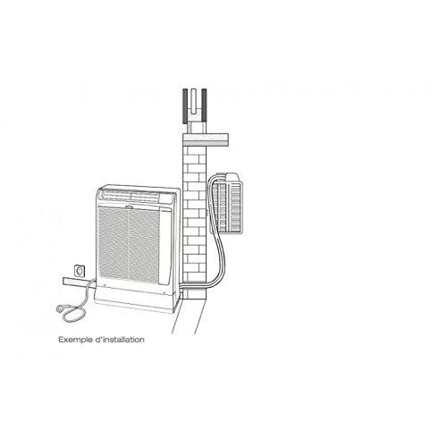 Technibel Mobile Split SCDF134C5I - Aire acondicionado 4,0 kW: Amazon.es: Bricolaje y herramientas