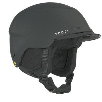 Scott Rove Mips Ski Helmet (Black Soft Touch, Medium), Outdoor Stuffs