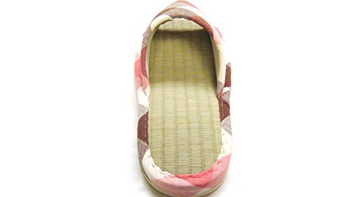 Indoor GREEN Bamboo Classic Sizes Different Slippers KNP Lattice Red and Two KNP26013T LIFE Tatami with Cloth Many Colors 0tqdwF