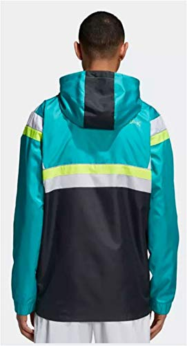 For Carbon Green Men Anorak Br8 Shock Originals Hooded Adidas Windbreaker Unz5gU