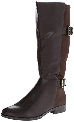 Shaft Rockin Boot Riding Womens Dark LifeStride Brown LifeStride Wide Womens 1qwROTw