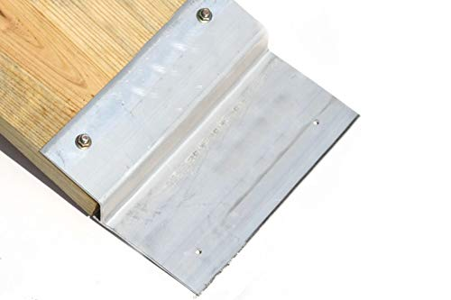 2 PCS Heavy Duty 12'' Aluminum Ramp Top/End Set with Mounting Hardware (Boards Not Included) by [Fengo] (Image #4)