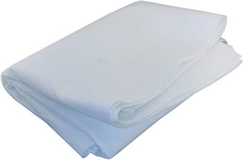 "1 Yard x 72"" Singed Polyester Felt Filter Media Fabric Sheet 100 Micron"