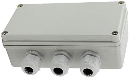 pince de connexion 16,5 x 8,9 x 8,9 cm Plastique Gris /étanche IP65 Bo/îtier ext/érieur 2 /à 3 sorties Uotyle Bo/îte de d/érivation /électrique
