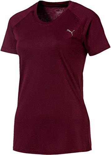 T Shirt Raglan Tee A Aubergine Puma c e Femme qzaXxpY