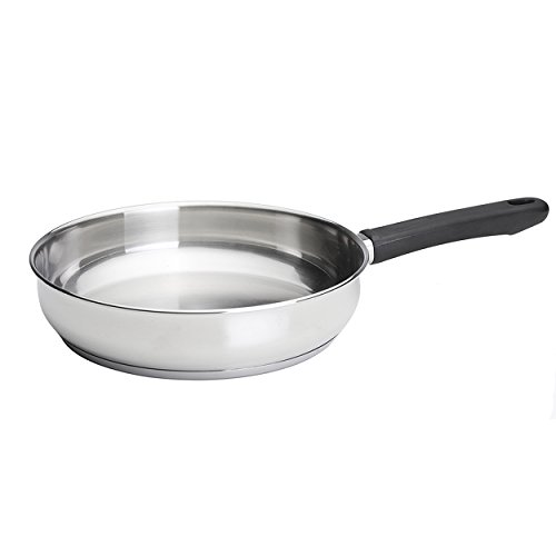 Kinetic Kitchen Basics Series  Stainless Steel Open NonStick Frypan 12015, 10-Inch
