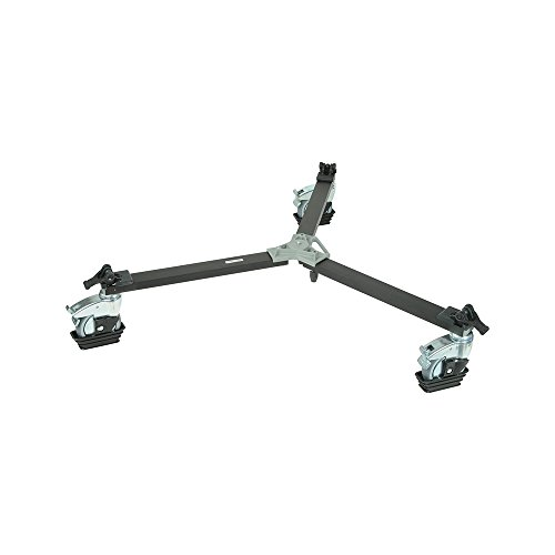 Video Dolly for Tripods with Twin Spiked Feet - Replaces 3198 ()
