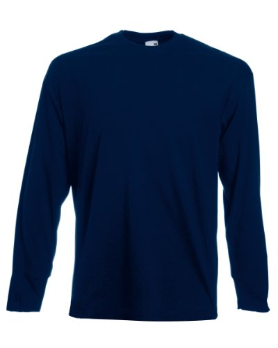 Manches Marine Longue Foncé Of À Loom Fruit T The shirt Bleu zxqYwBSB6