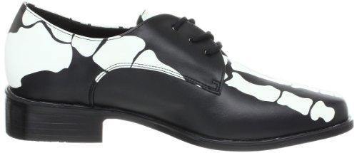 by Xray costume Black Men's Pu 02 Funtasma shoes Pleaser skeleton Black Oq1H1ng