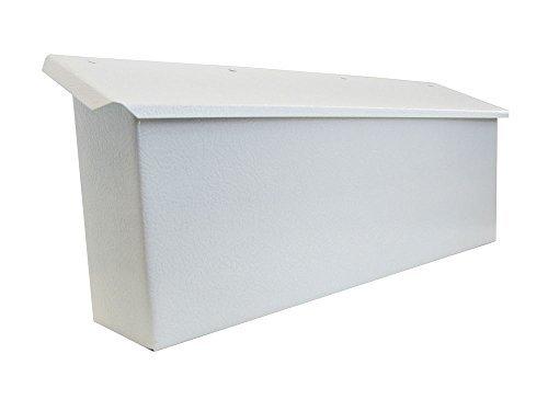 Fulton Corp White Horizontal Mailbox 3275