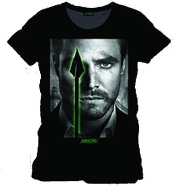 Arrow - camiseta de Oliver Queen - algodón - negra - XXL: Amazon.es: Ropa y accesorios