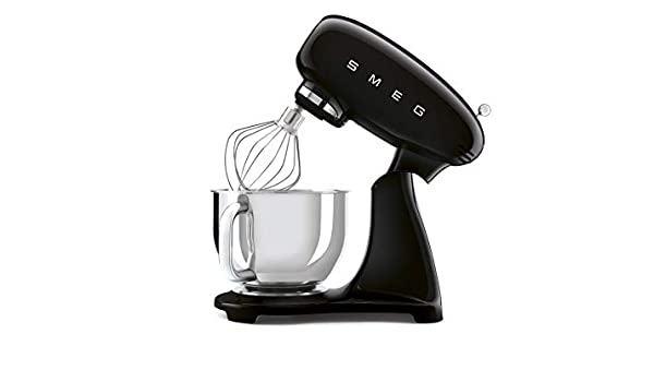 SMEG SMF03BLU - Robot de cocina (800 W, 4,8 L, 6 funciones, acero ...