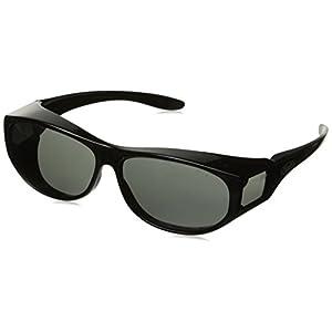 Global Vision Safety Fit Over Glasses (Black Frame/Smoke Lens)