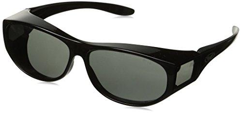 Global Vision Safety Fit Over Glasses (Black Frame/Smoke - Glasses Walmart Sunglasses Over