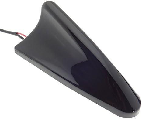 Antena de techo SHARK brillante 25 db amplificador AM/FM coche aleta de tiburón Sharkfin