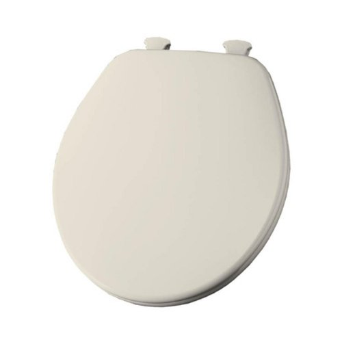 (Church 540EC 346 Lift-Off Wood Round Toilet Seat Linen)