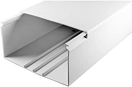 SCOS Smartcosat SCOSKK31 2 m Gaine de c/âble en PVC Blanc 2000 x 120 x 60 mm
