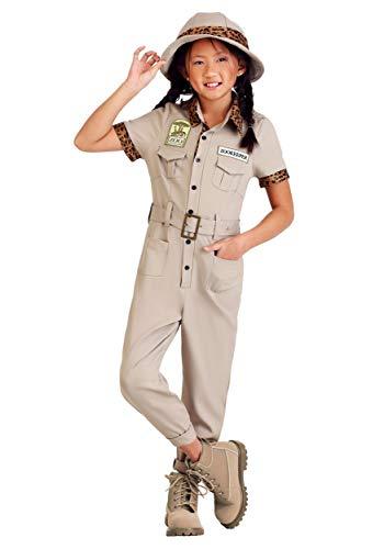 Girls Zookeeper Costume Large ()
