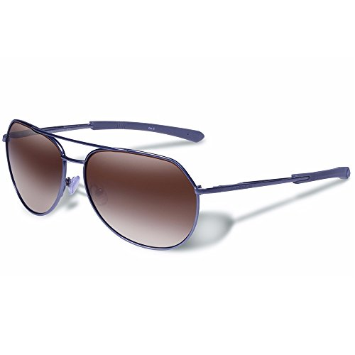 - Gargoyles Performance Eyewear Victor Polarized Safety Glasses, Matte Gun Frame/Brown Gradient Lenses